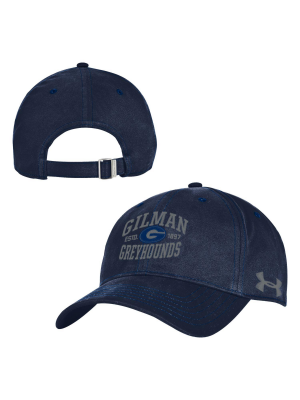 Hat UA Youth Adjustable Gilman Est. 1897