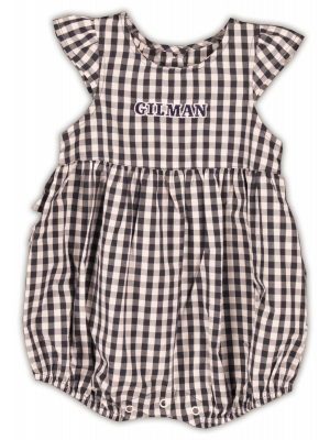 Romper Girls Gingham