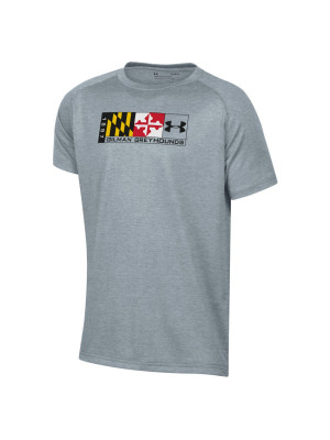 T Shirt Maryland Flag S/S Gilman Greyhounds