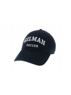 Relaxed Twill Soccer Hat Navy