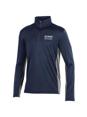 Quarter Zip Youth UA Navy/Grey