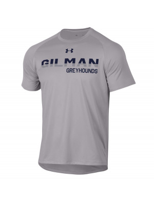 T SHIRT MENS UA TECH GREY