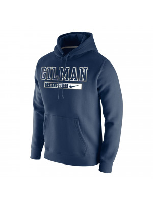 HOOD NIKE FLEECE NAVY GILM BAR