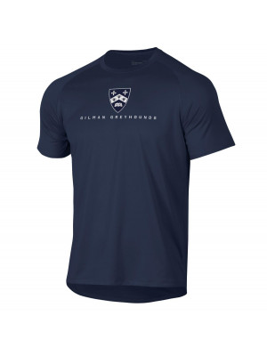 T SHIRT S/S UA NAVY SHIELD
