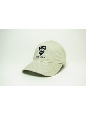 Hat Easy Twill Adjustable Stone Gilman Shield