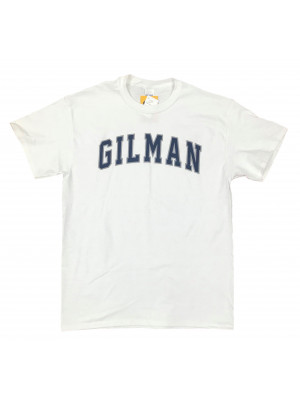 T Shirt Arched Gilman White