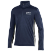Quarter Zip Youth UA Navy/Grey