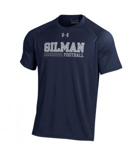 T Shirt Football Short Sleeve UA