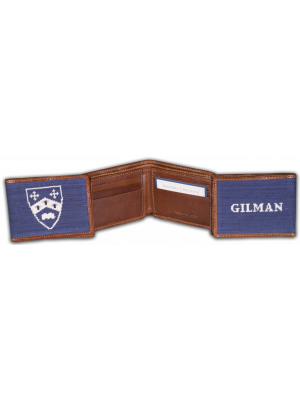 Smathers and Branson Custom Gilman Wallet