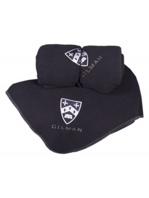 BLANKET NAVY SHIELD GILMAN