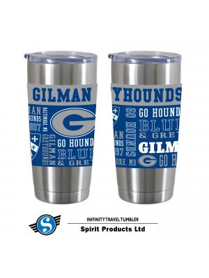 Travel Tumbler Gilman Logos