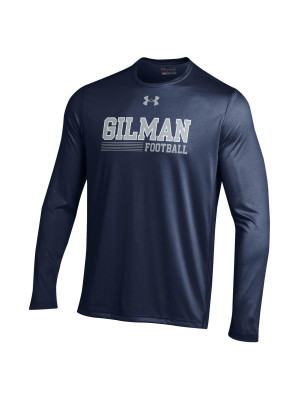 T Shirt Football Long Sleeve UA