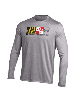 T Shirt Maryland Flag L/S Gilman