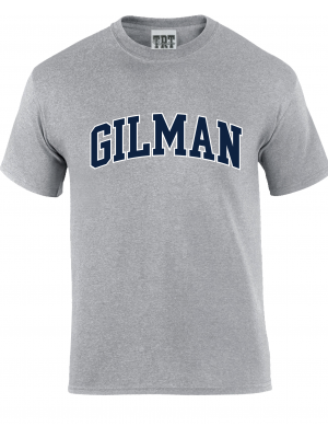 T Shirt Grey Gilman Cotton S/S