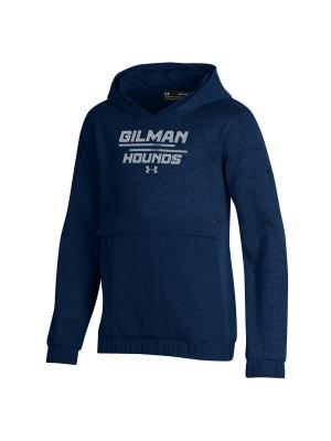 HOOD YTH UA GILMAN HOUNDS NAVY