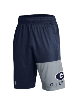 SHORT UA MEN GAME NVY/GREY G