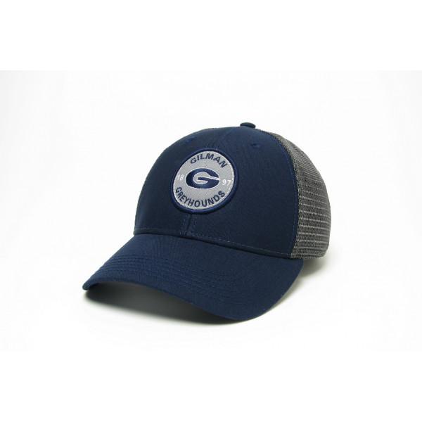 Trucker Navy/Grey Mesh