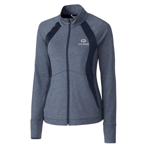Jacket Navy Full Zip