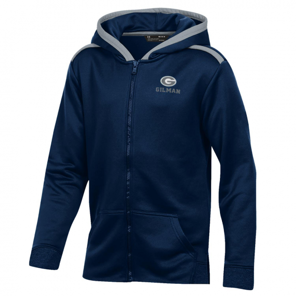 Full Zip Terry Hood UA