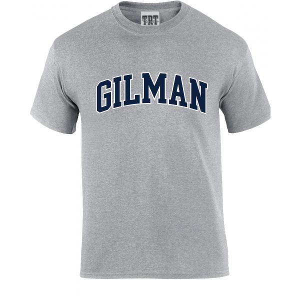 T Shirt Grey Gilman Cotton S/S