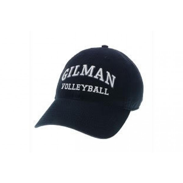 Relaxed Twill Volleyball Hat Navy