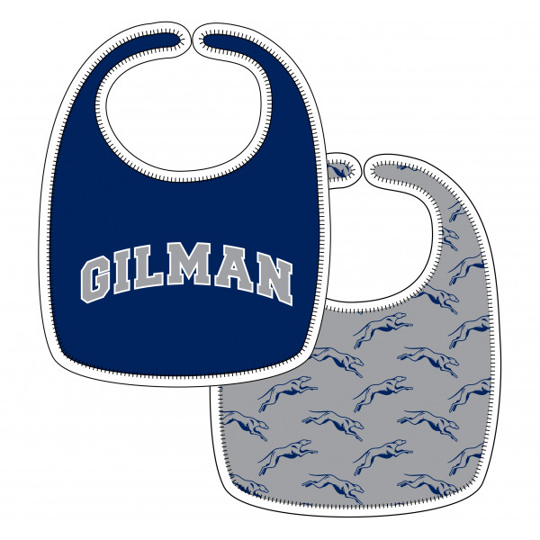 Bib Reversible Gilman /Greyhounds