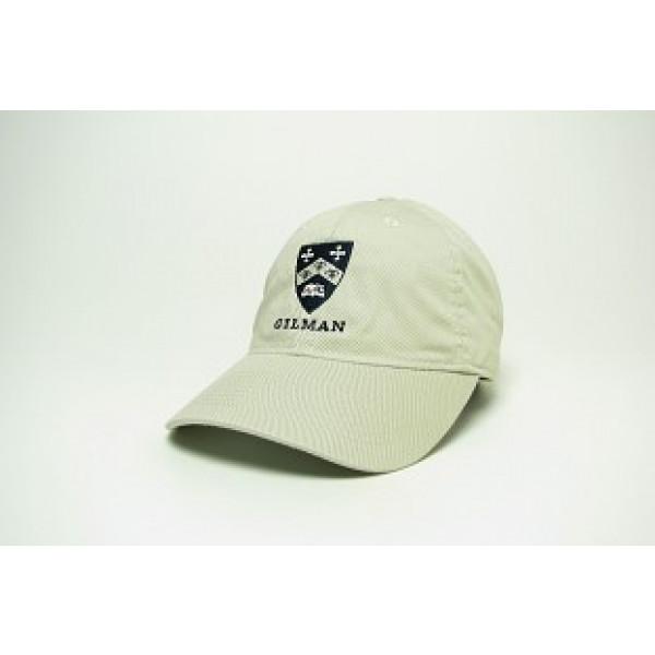Hat Easy Twill Adjustable Stone Gilman Shield