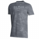 T SHIRT YTH UA TWO TONE GREY